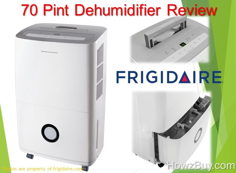 Frigidaire 70-Pint Dehumidifier with Effortless Humidity Control [FFAD7033R1] - Review 2018