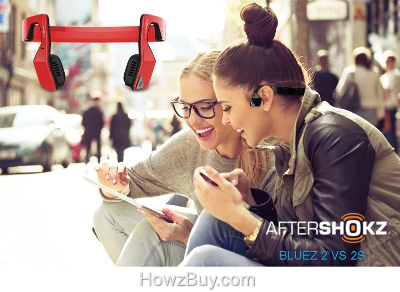 Aftershokz Bluez 2 vs Bluez 2S review
