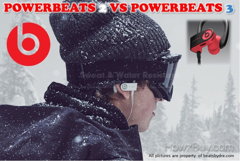 Beats Powerbeats 2 vs Powerbeats 3 Wireless Headphones Comparison