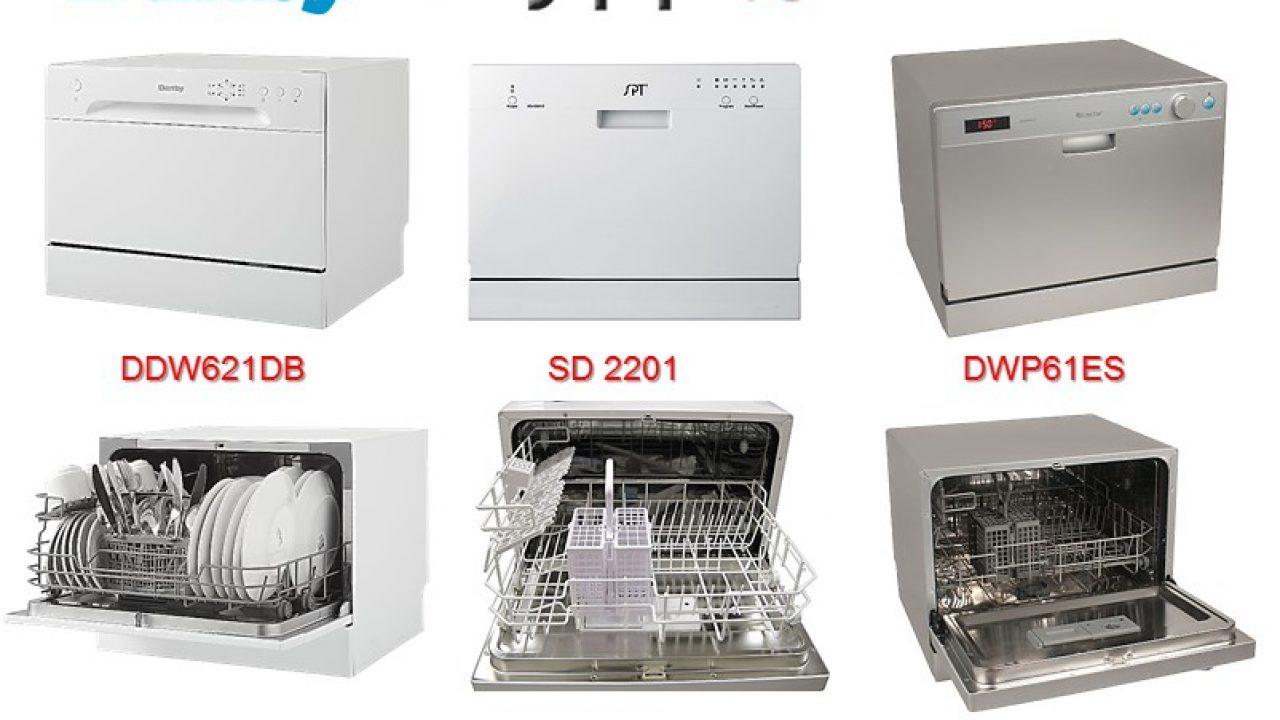Countertop Dishwashers Danby Vs Spt Vs Edgestar Compared