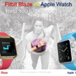 Fitbit Blaze vs Apple Smart Sports Watch Comparison