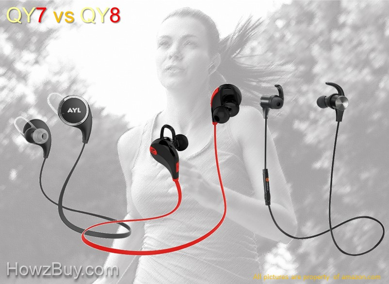 QY7 vs QY8 Headphones Compare & Review