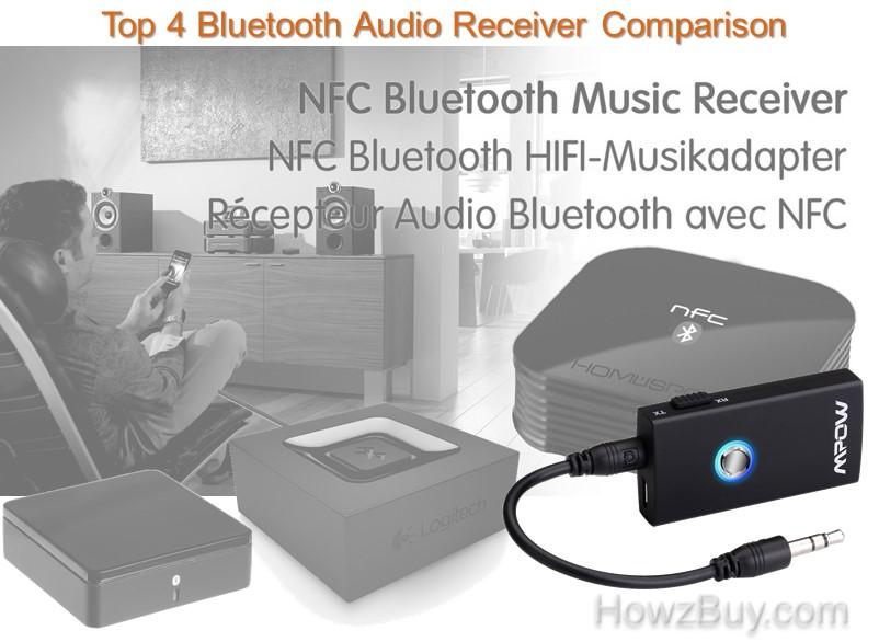 Top 4 Bluetooth Audio Receiver Comparison