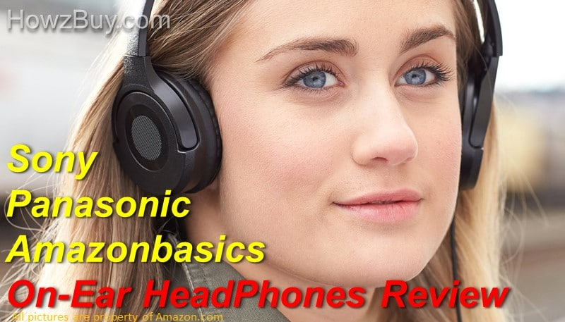 Amazonbasics HP01 V2 vs Sony ZX vs Panasonic RP-HF100M-K On-Ear Stereo Headphones Comparison