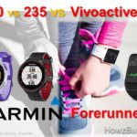 Garmin Forerunner 230 vs 235 vs Vivoactive HR Smartwatch Comparison