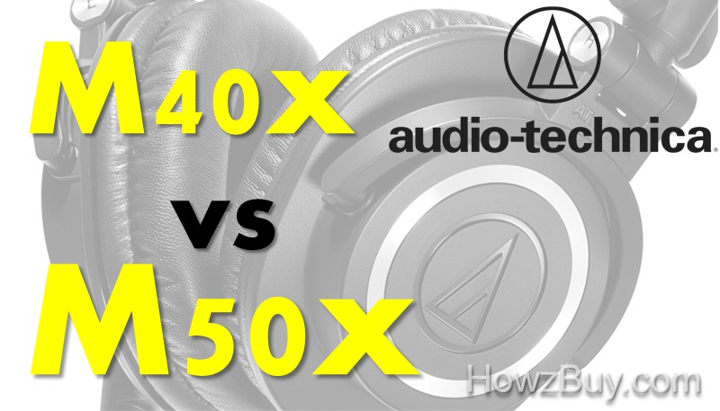 Audio Technica ATHvM40x vs M50x Comparison & Review