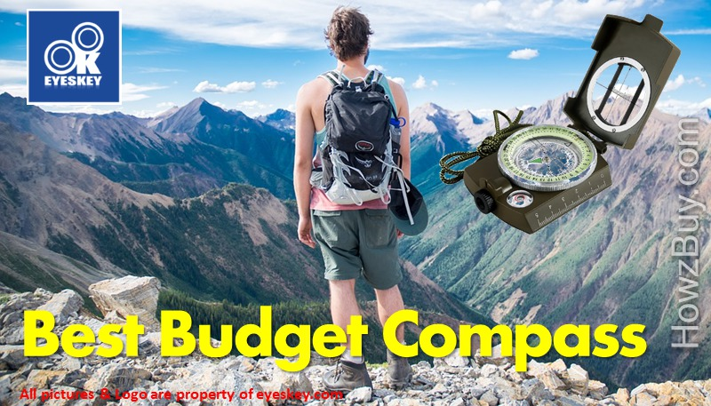 Best Budget Compass for Hiking , Hunting, Camping & Backpacking