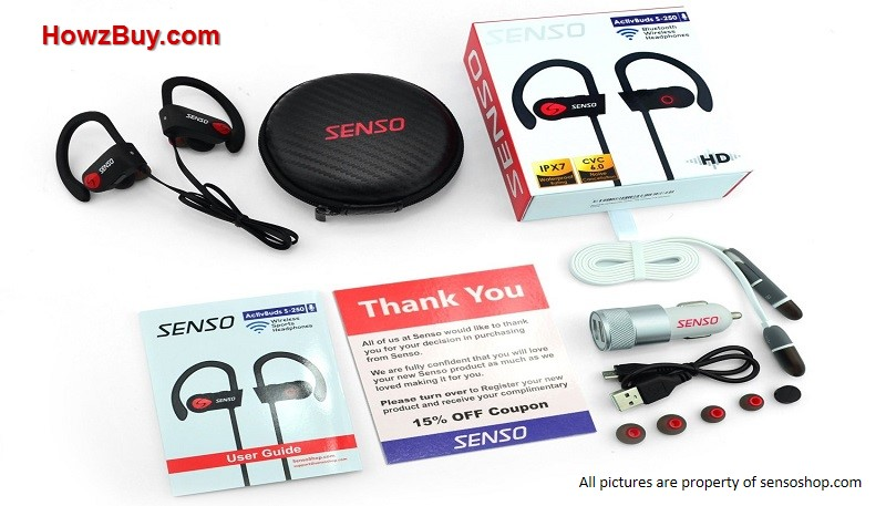 Senso ActivBuds Review-wireless-bluetooth