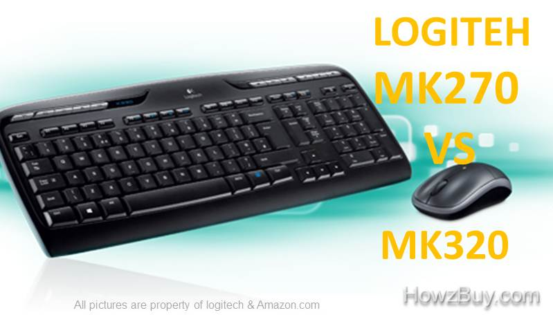 Logitech MK270 VS MK320 Wireless - Which one to buy  8482b16a96b8c