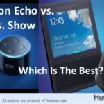 Amazone Echo VS DOT VS SHOW