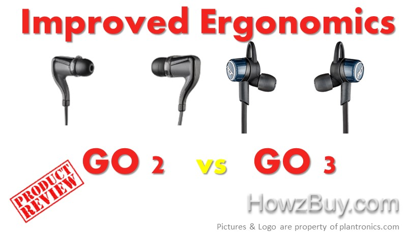 BackBeat Go 2 vs Go 3 improvements