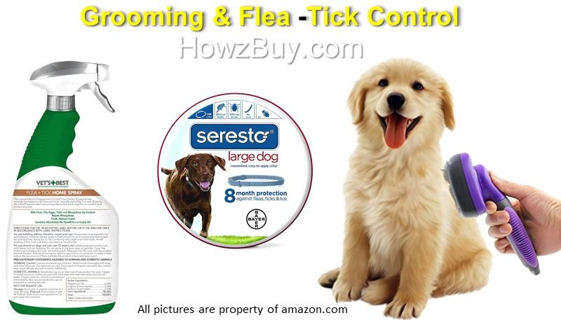 Grooming &Flea, Tick Control for Dog