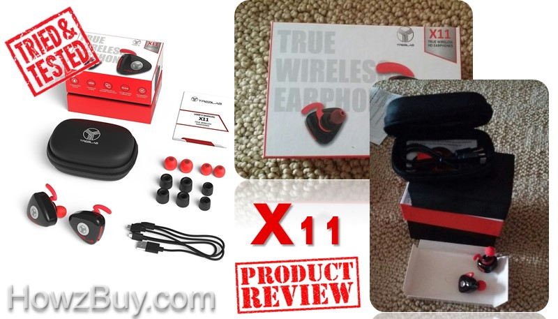treblab x11 bluetooth wireless earbuds review tried and tested