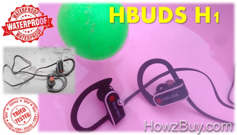 Hubds H1 waterproof sports headphones tested