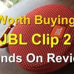 JBL Clip 2 hands on Review