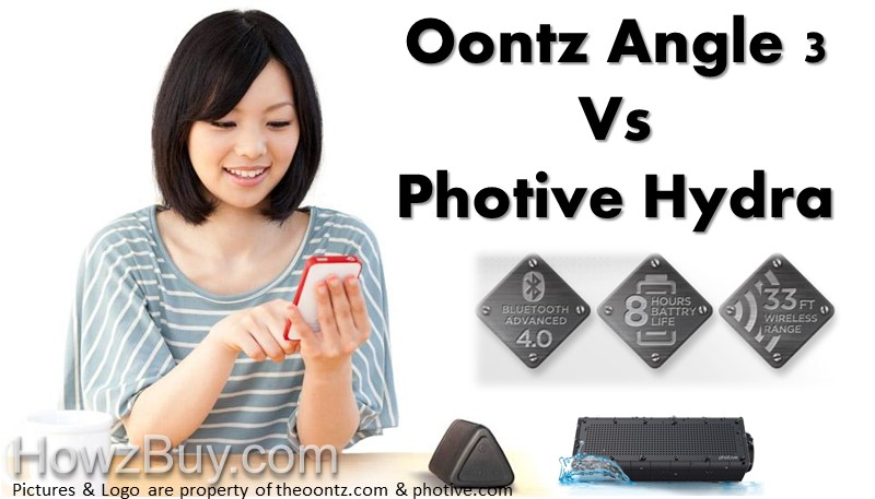 Oontz Angle 3 vs Photive Hydra Best $30 Bluetooth Speakers