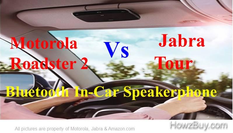motorola 2vs jabra tour speakerphone