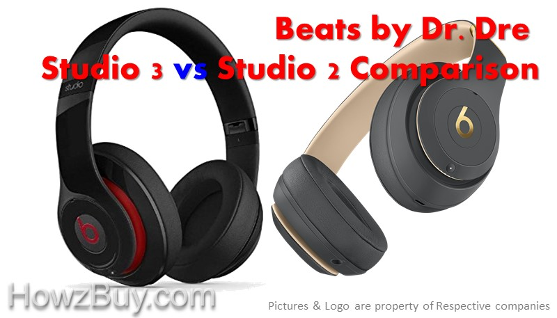 Beats by Dr. Dre Studio 3 vs Studio 2 Comparison