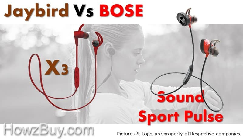 Best Jogging Headphones Jaybird X3 Vs Bose SoundSport Pulse Comparison