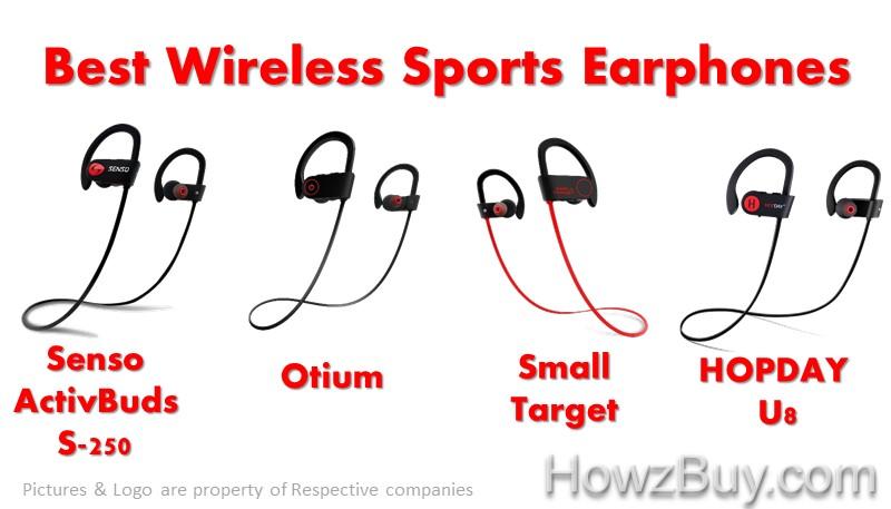 Best Wireless Sports Earphones under $30 in 2018