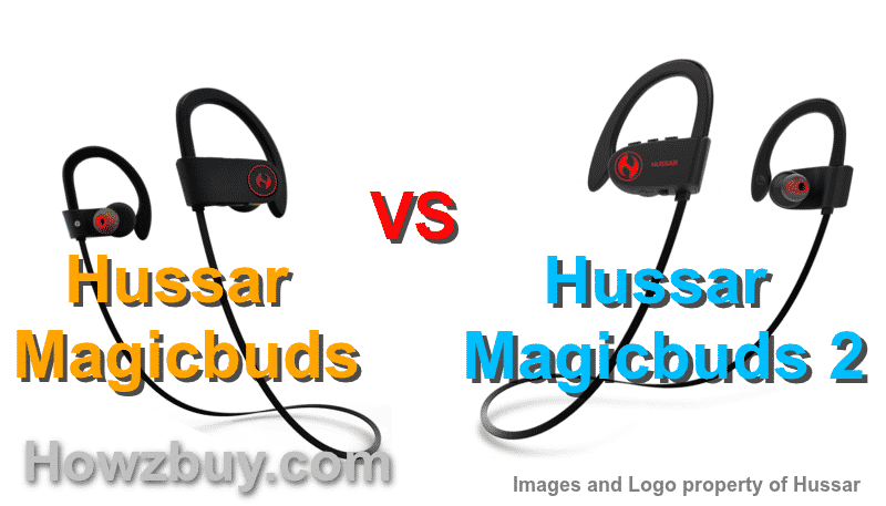 Hussar magicbuds vs magicbuds 2 wireless headphones