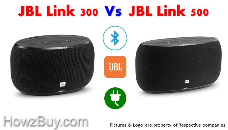 JBL LINK 300 vs JBL LINK 500 Voice Activated Speaker Comparison