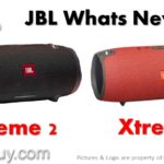 JBL Xtreme 2 vs Xtreme Waterproof Portable Speaker Comparison