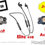 Jabra Elite 65t vs Active 65t vs Elite 45e earbuds