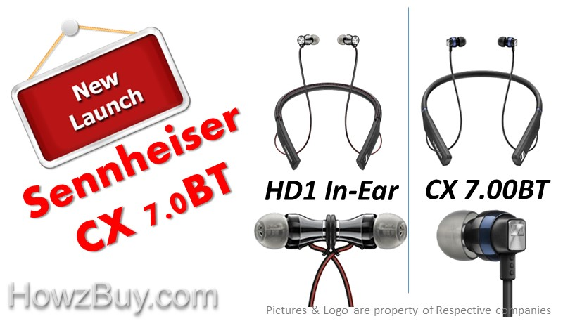 Sennheiser HD1 In-Ear vs CX 7.00BT Wireless In-Ear Bluetooth Headphones Comparison & review