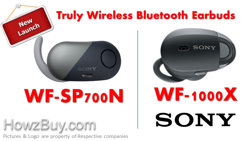Sony WF-SP700N vs WF-1000X Noise Cancelling Wireless Earphones Comparison