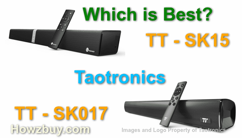Taotronics tt015 vs taotronics tt017 wireless soundbar