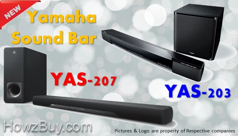 Yamaha YAS-207 vs YAS-203 Sound Bar Review & Comparison