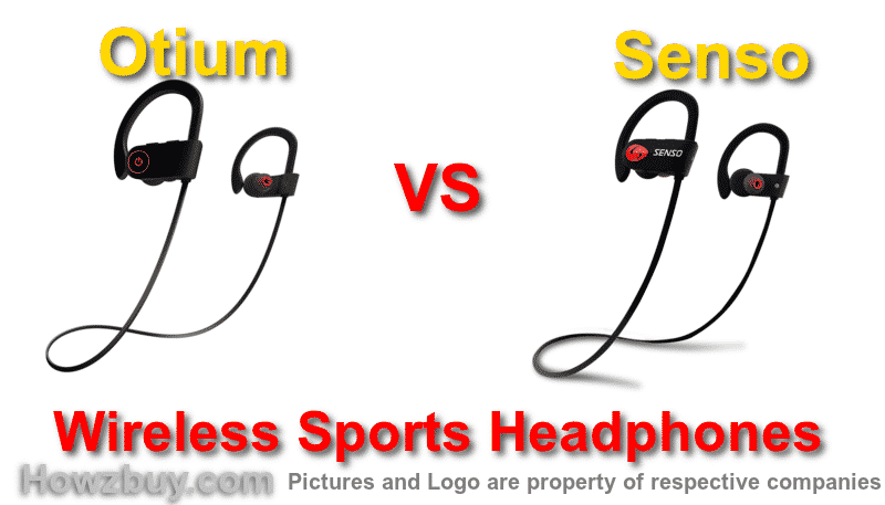 otium vs senso wireless earphones