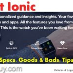 Fitbit Ionic – Review, Specs, Goods & Bads, Tips & Tricks