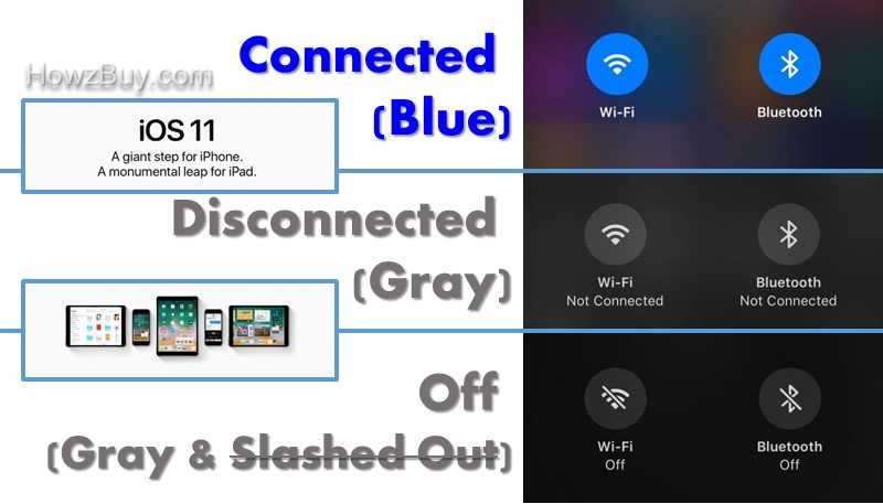iOS 11 Bluetooth & WiFi Simplified - How, What, Why