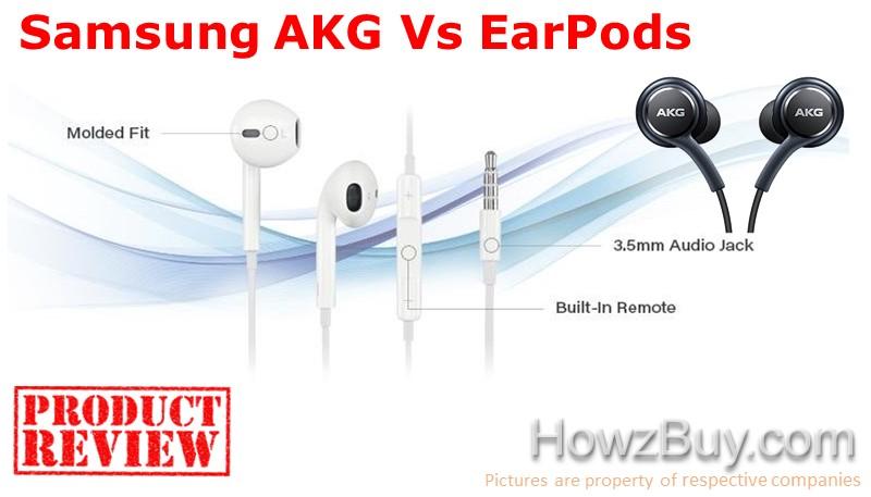 AKG Headphones Vs EarPods