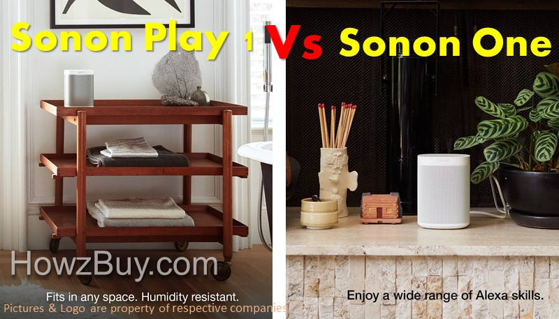 Sonos Play 1 vs One Review - Which one is Best