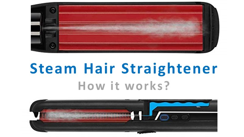 Steam Hair Straightener how it works