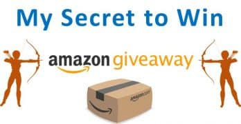 How do I win Amazon Giveaways? My secret formula! Step-by-Step