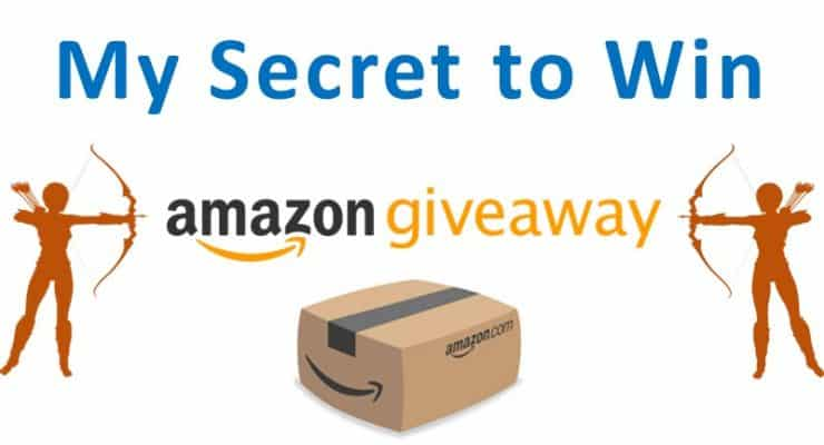 secret to win amazon giveaway - success formula