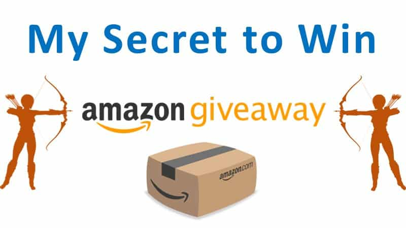 secret to win amazon giveaway - success formula