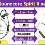 Anker Soundcore Spirit X vs Soundcore Spirit Sports headphones review and compare