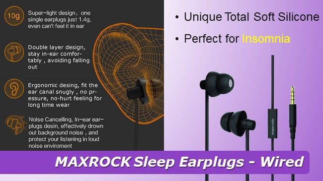 MAXROCK Sleep Earplugs review 2019