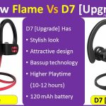 Mpow Flame Vs D7 Upgrade compare and review