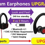 Otium wireless Earphones UPGRADE specs compare and review
