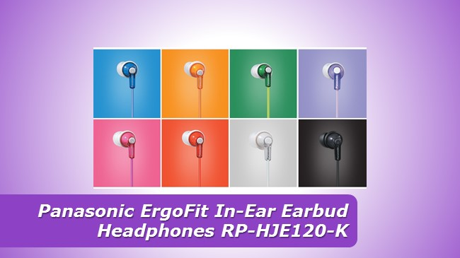 Panasonic ErgoFit In-Ear Earbud Headphones RP-HJE120-K review 2019