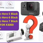 best action camera under $400 GoPro Hero 7 Black vs Hero 6, Hero 5, Sony FDR X3000 vs YI 4K+