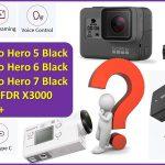 best action camera under $400 GoPro Hero 7 Black vs Hero 6, Hero 5, Sony FDR X3000 vs YI 4K+