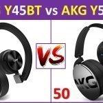 AKG Y45BT vsAKG Y50BT review - Specification & features comparison