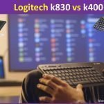 Logitech k830 vs k400 mini wireless keyboard review and comparison